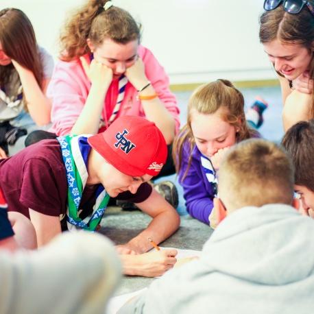 Children at Workshop