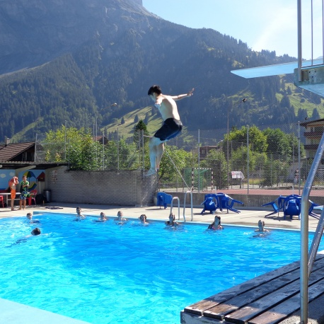 Kandersteg Swimming Pool
