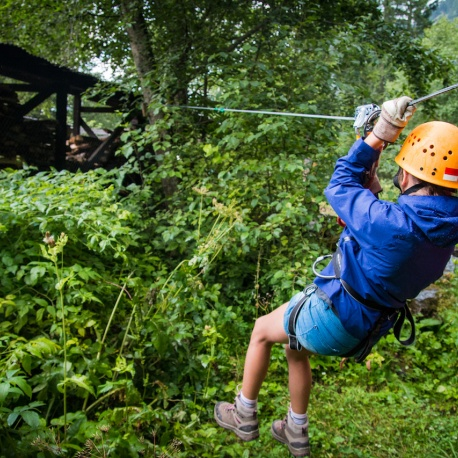 Scouts at Zip Wire