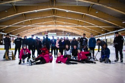 Students, Ice Skating, Winter Activities