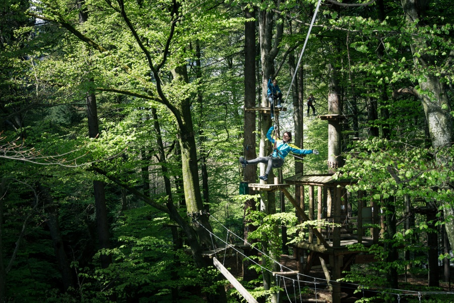 High Ropes Park Interlaken 2