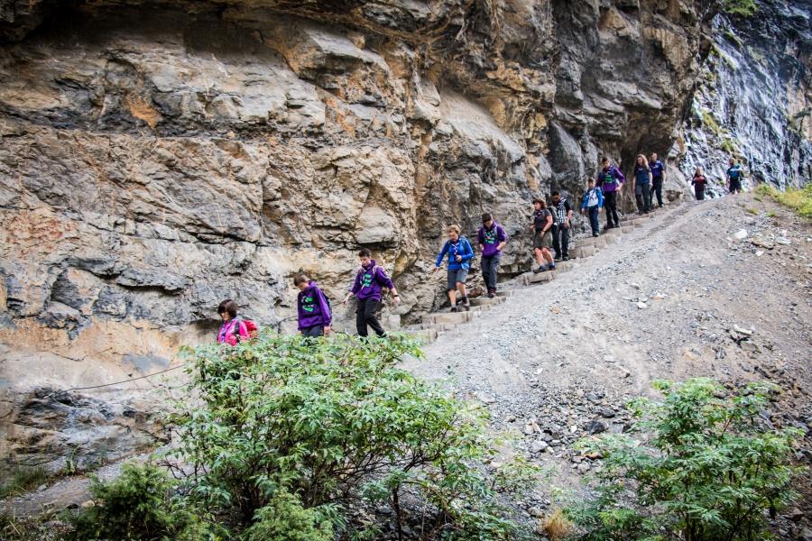 Evolving Alps Hike 0