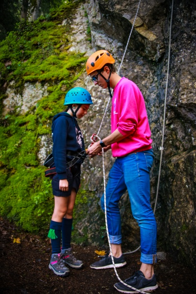 Beginners Abseiling 2