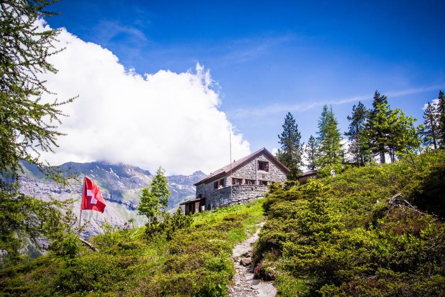 Doldenhorn Hut Hike 0
