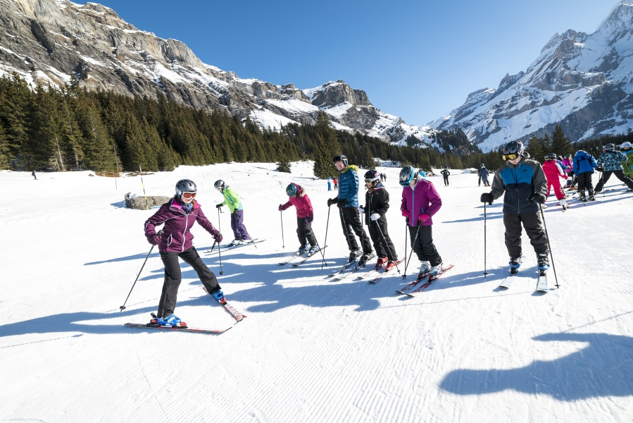 Guided Skiing / Snowboarding - Kandersteg 1