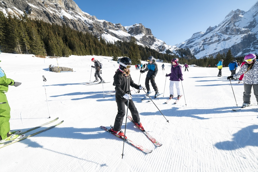 Group Ski / Snowboard Lesson - Kandersteg 2
