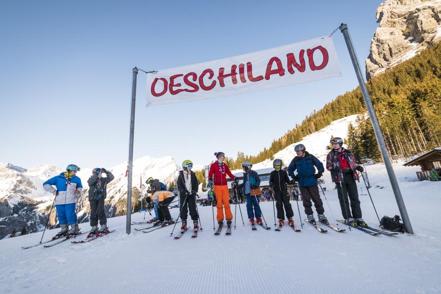 Guided Skiing / Snowboarding - Kandersteg 2
