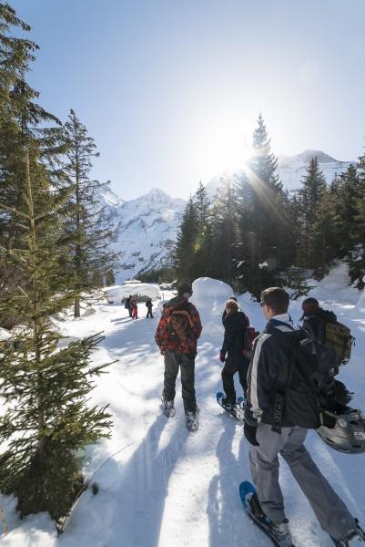 Oeschinensee Snowshoe Tour 2
