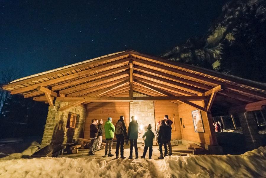 Winter Light Trail 1