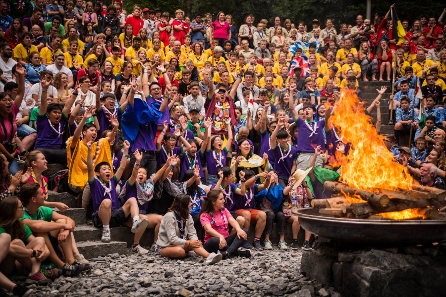 Donate to the World Scout Centre 0