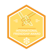 Scout Badge International Friendship