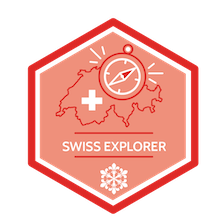 Swiss Explorer badge