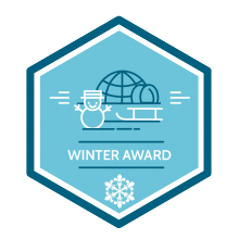 Scout Winter Award Badge