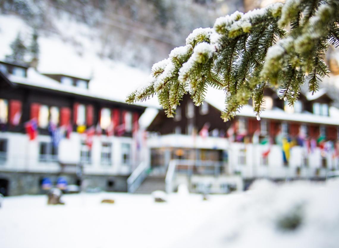 Christmas at Kandersteg International Scout Centre