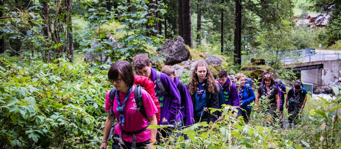 Evolving Alps Hike - KISC
