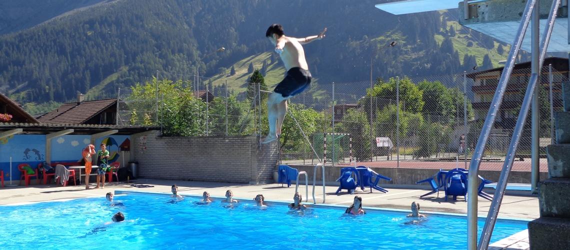 Kandersteg Swimming Pool