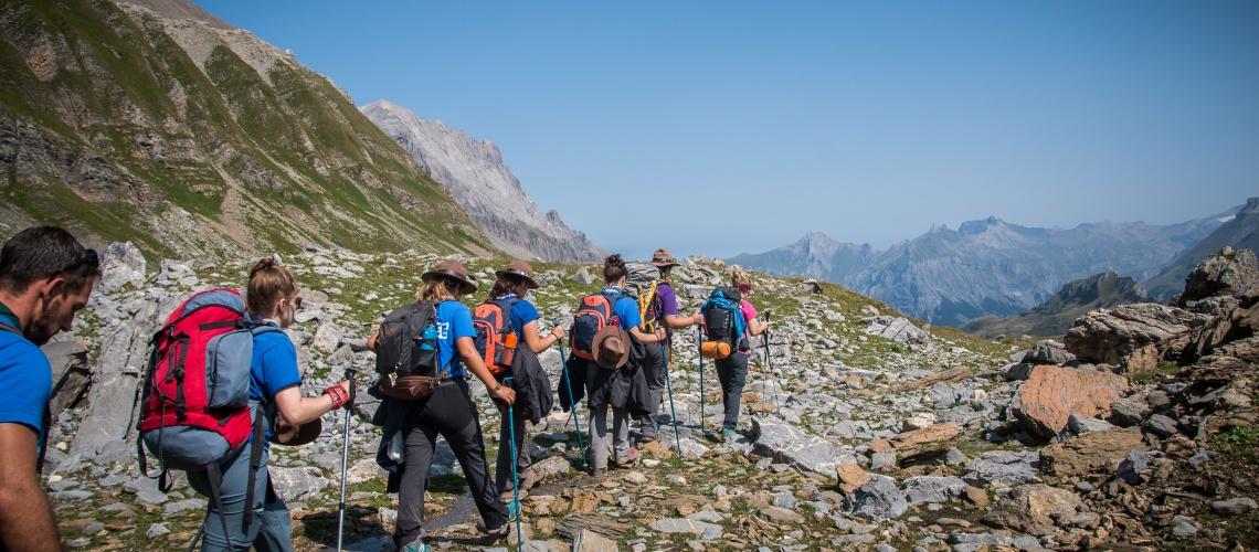 Three Valleys Hike Kandersteg Switzerland