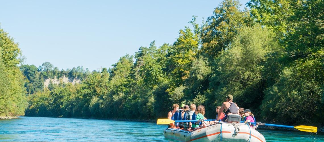 River Rafting Aare