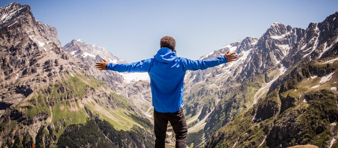 Lötschenpass Hike Kandersteg Switzerland