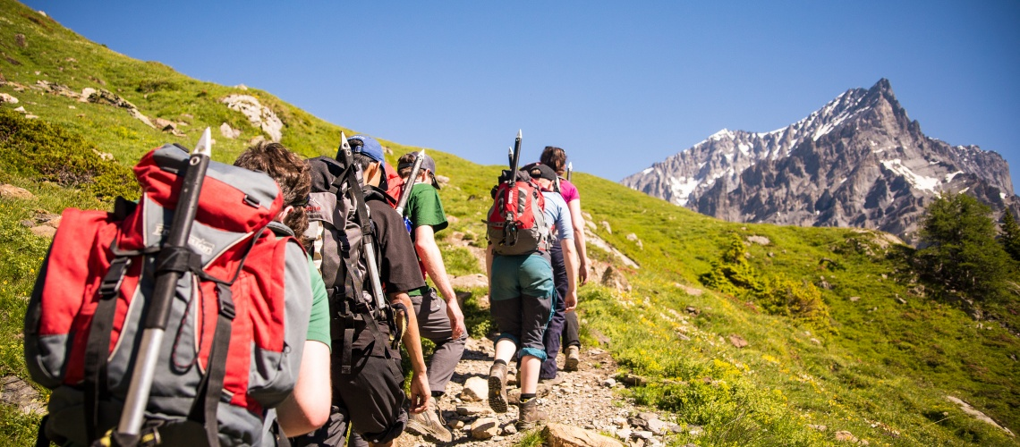Lötchenpass Hike Kandersteg Switzerland