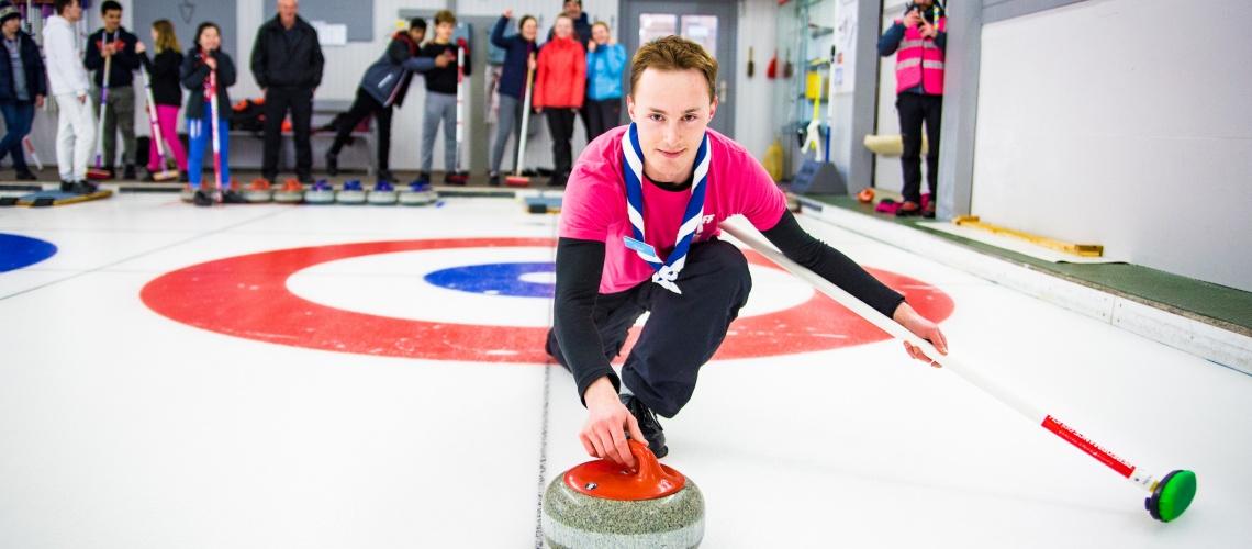Curling Kandersteg