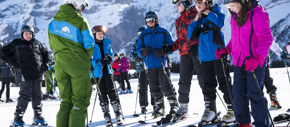 Group Ski Lesson - Kandersteg