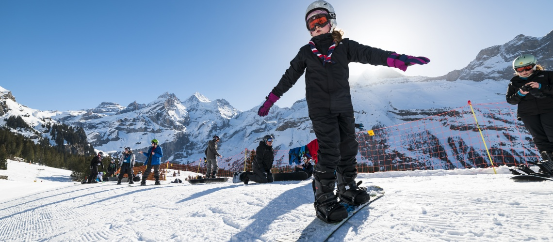 Guided Skiing & Snowboarding - Kandersteg